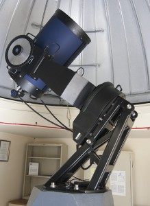 Our 16-inch, computerized telescope