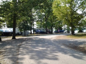 Camp by the water at Piney Campground in Land Between the Lakes.