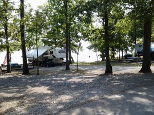 Camping at Piney Campground
