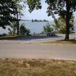 Lakeside camping at Piney Campground