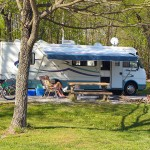 Camping at Hillman Ferry Campground