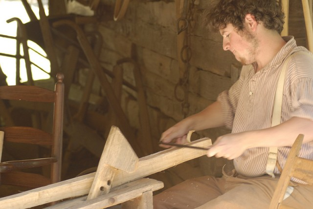 1850s woodworking at the Homeplace
