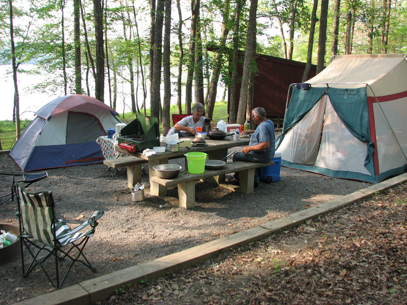 Camping At Land Between The Lakes National Recreation Area