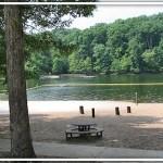 Hillman Ferry Campground Beach