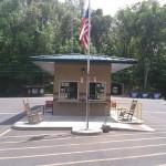 Hillman Ferry Campground Gatehouse