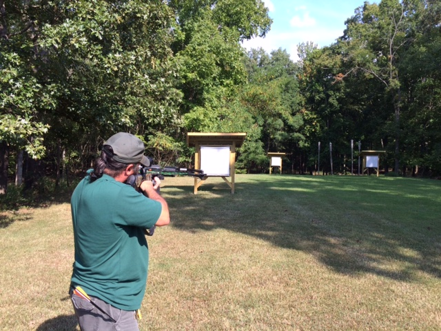 New Archery Target Range At Piney Campground In Land