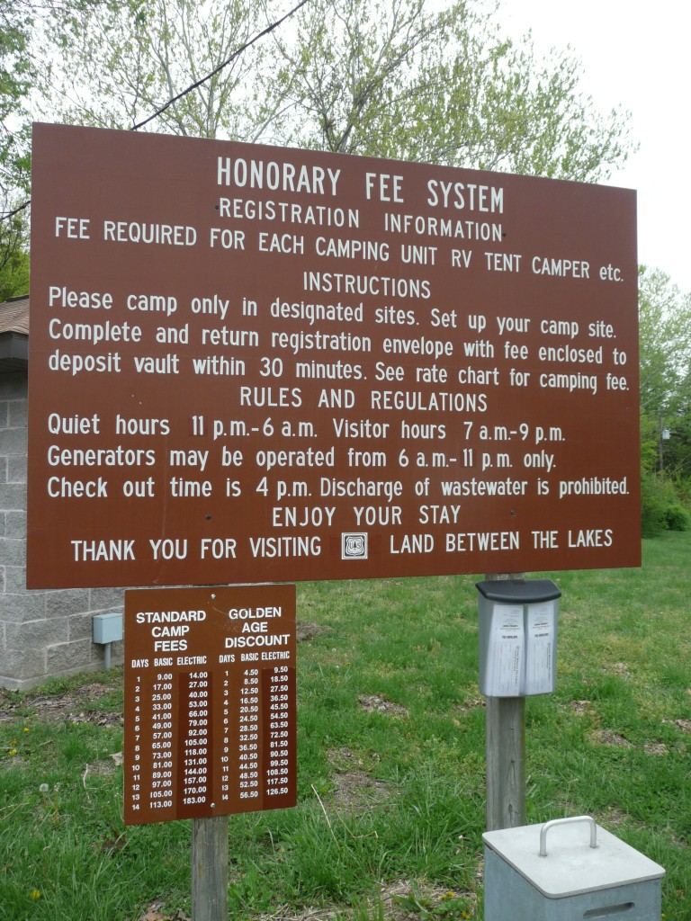 Self-Service Campgrounds