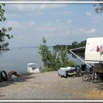 Camping at Piney