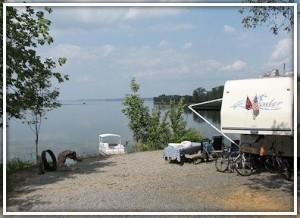 Camping at Piney