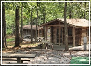 Cabins at Piney. Bring your own linens, we have the beds.