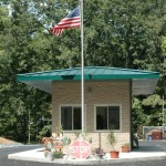 Energy Lake Campground Gatehouse