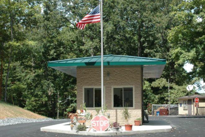 Energy Lake Campground Gatehouse