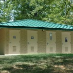 Energy Lake Campground Shower Building