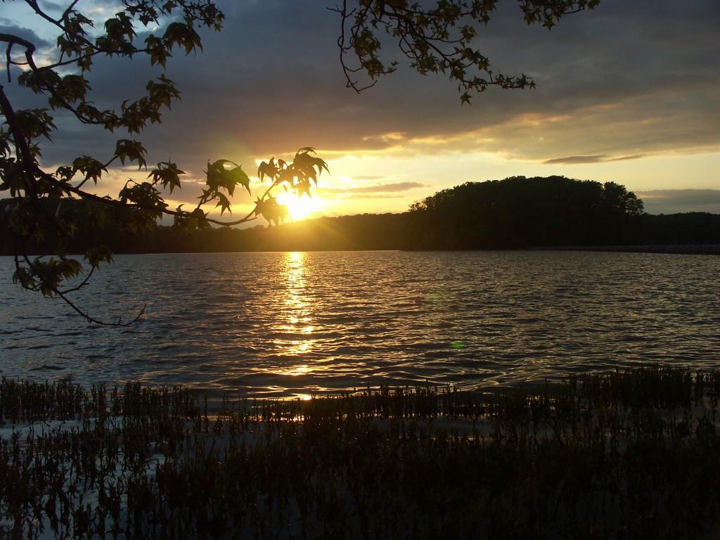 Honker Lake Sunset