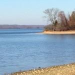 Looking across Kentucky Lake