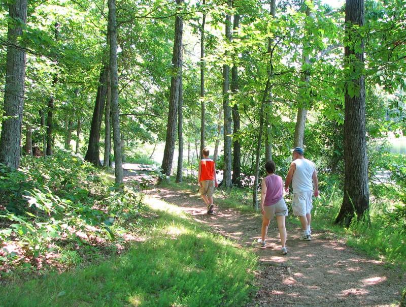 Hiking Hematite Trail