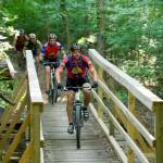 Mountain Biking on Canal Loop Trail