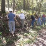 Volunteers helping at Land Between The Lakes