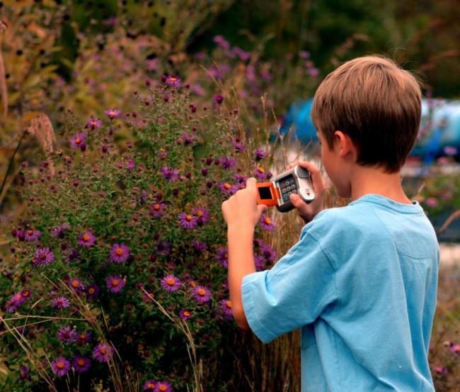 Kid at Nature Station
