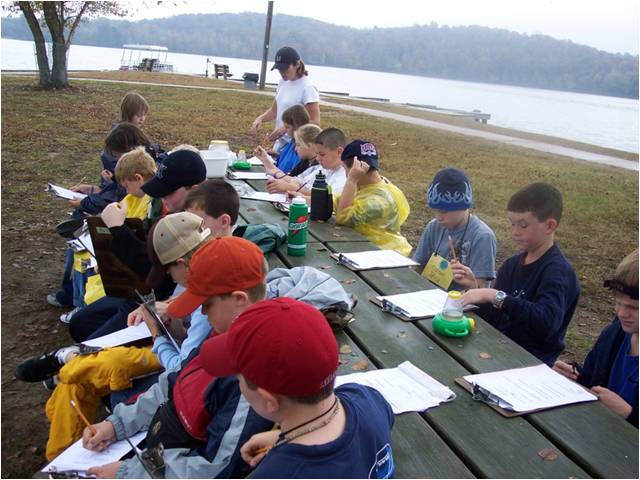 Brandon Spring is the perfect outdoor classroom