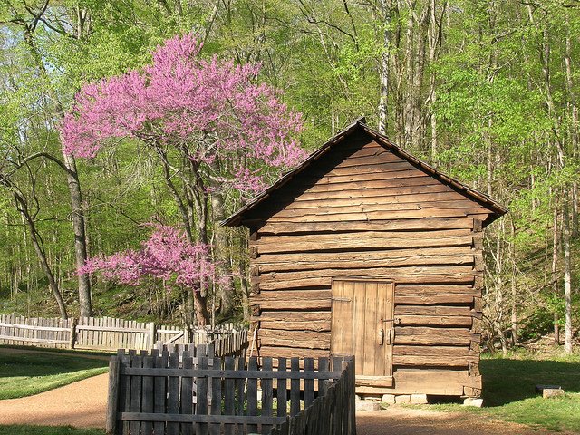 Smokehouse at the Homeplace 1850s Working Farm and Living History Museum