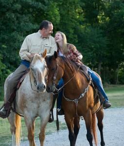 Horseback riding at Land Between The Lakes