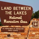 Land Between the Lakes welcome sign