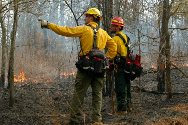 Prescribed Fire at Land Between the Lakes