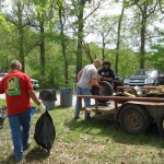 Trail Clean-up Volunteers at Land Between The Lakes