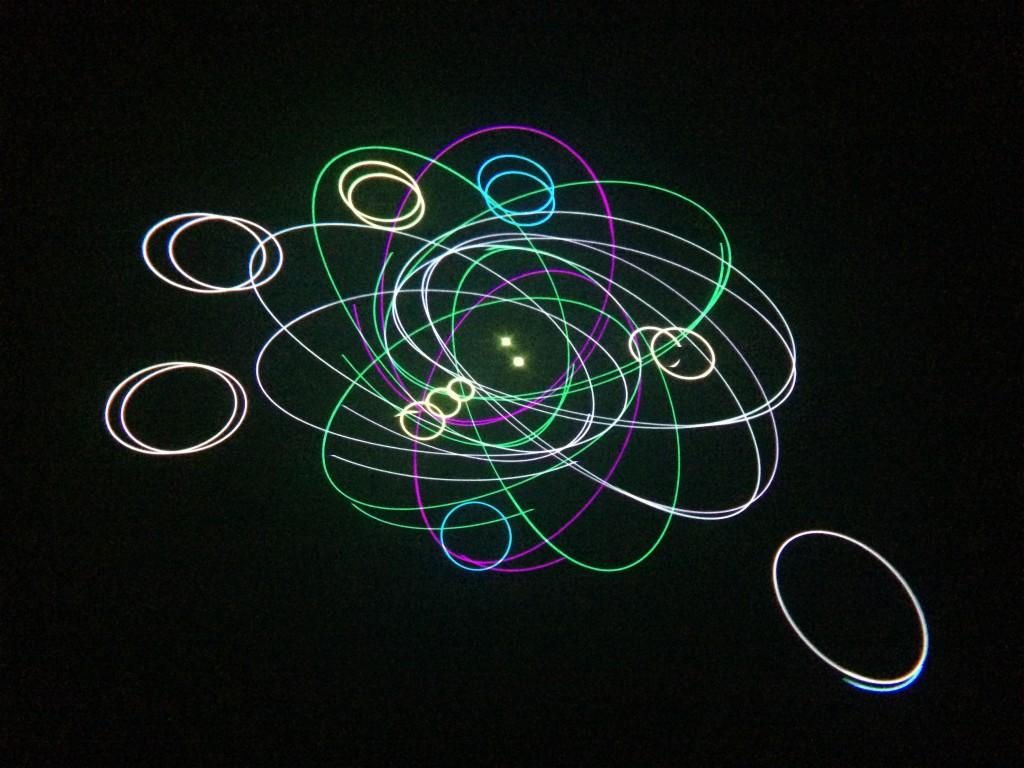 Golden Pond Planetarium Laser Music Shows