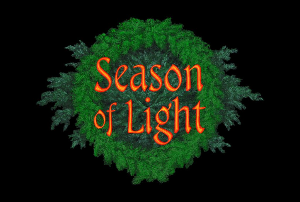 Licensed only for use in conjunction with the planetarium show 'Tis The Season! © Copyright 1993, Loch Ness Productions dome-art@lochness.com