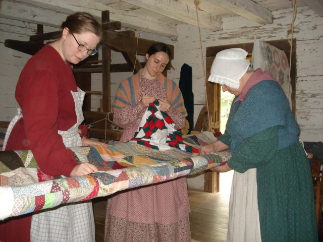 Quilting Bee at Homeplace