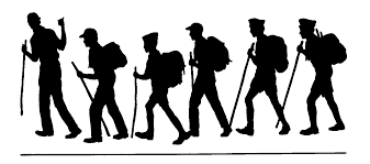 backpacking clip art