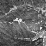 Close up of Fox Hollow area aerial photo taken September 30, 1963