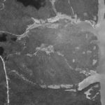 Close up of Fox Hollow area aerial photo taken June 9, 1980