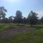 Repaired campsite at Wranglers Campground on July 26, 2016.