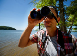 Wildlife viewing is a popular activity at Land Between the Lakes. Photo by O'Neil Arnold, Kentucky Tourism