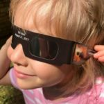 wear solar viewing glasses